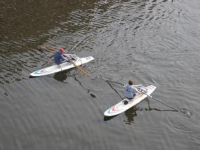 Renting RowSurfers with SUP or sailboards, kayaks or canoes